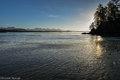 Schooner Cove, sunrise, Pacific Rim National Park, British Columbia, Canada, tide