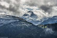 Mt. Davidson, British Columbia, Canada, Blackcomb Peak, Garibaldi Provincial Park, storm, clouds,