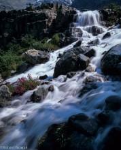 Waterfall Above Upper Joffre Lake