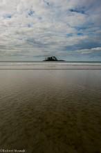 sand, sky, island, schooner cove, pacific rim provincial park, british columbia, canada