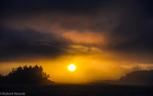 pacific, sunset, Vancouver Island, British Columbia, Canada, coast, southwest