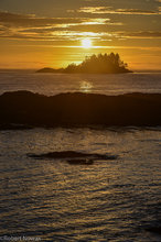 sunset, Vancouver Island, British Columbia, Canada, coast, September