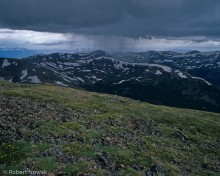Gore Range, Arapaho National Forest, Colorado, thunderstorm, rain, Loveland Pass