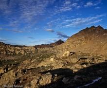 Hunter Fryingpan Wilderness, Colorado, Lost Man Lake, sunset, Williams Mountains