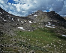 Geissler Mountain and Lost Man Lake