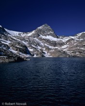 Blue Lake and Mt. Toll