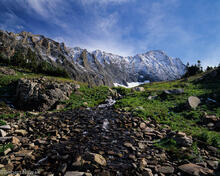 Capitol Peak, Capitol Creek, Maroon, Snowmass, Wilderness, Colorado