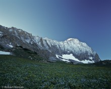Capitol Peak, Maroon Snowmass Wilderness, Colorado, September, sunrise, snow