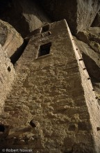 cliff dwelling, Mesa Verde National Park, Colorado, tower, ruin