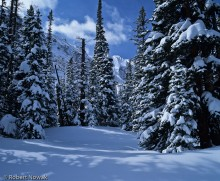 Winter Landscape at Loch Vale