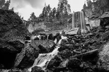Paulina Falls, Newberry National Volcanic Monument, Oregon,