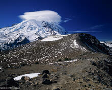 Mt. Rainier, Mount Rainier National Park, Burroughs Mountain, Washington