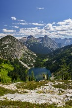 Lake Ann, Okanogan National Forest, Washington, Heather Pass,