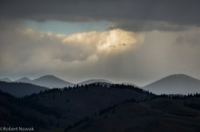summer, rain, Winthrop, Washington, Cascades, foothills,