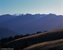Olympic National Park, Washington, Hurricane Ridge, Olympic Range, sunbeams