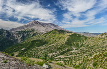 Mount St. Helens National Monument, viewpoint, windy ridge, Washington,