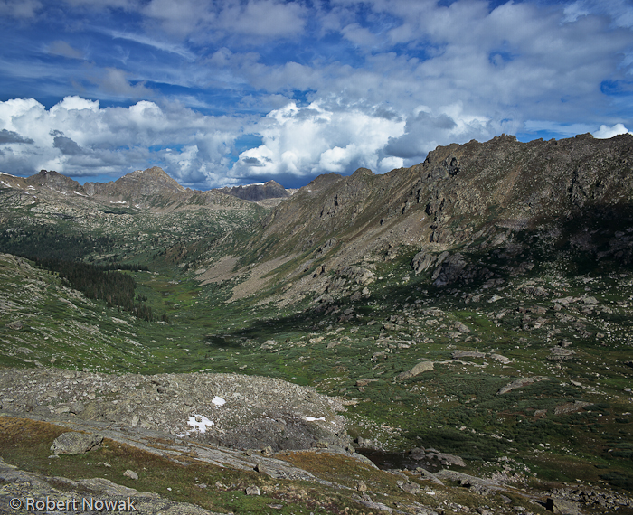 Williams Mountains, Hunter Fryingpan Wilderness, Colorado, Lost Man Lake, photo