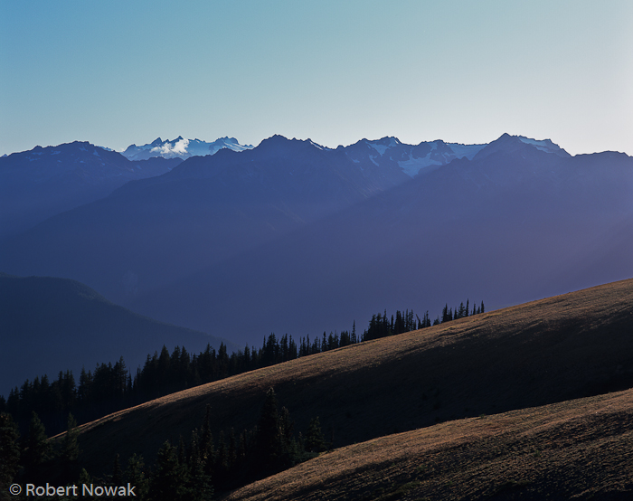 Olympic National Park, Washington, Hurricane Ridge, Olympic Range, sunbeams, photo