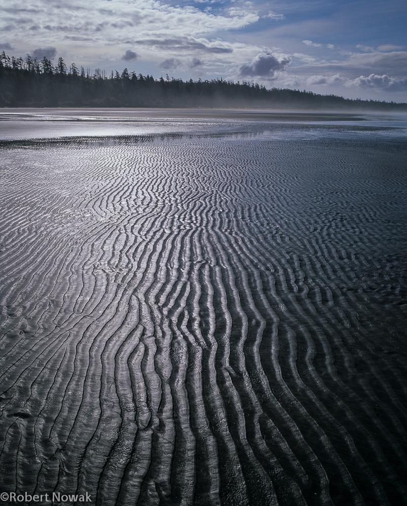 sand, ripples, pacific rim provincial park, british columbia, canada, photo