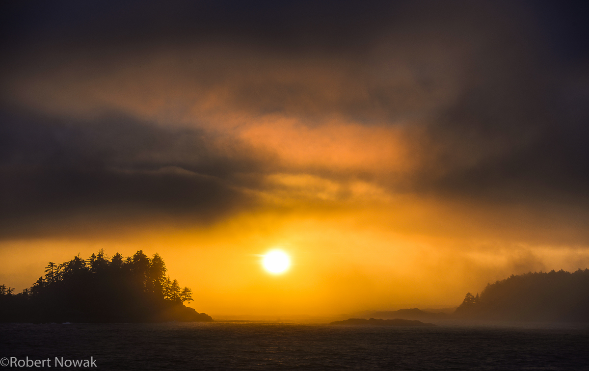 pacific, sunset, Vancouver Island, British Columbia, Canada, coast, southwest, photo