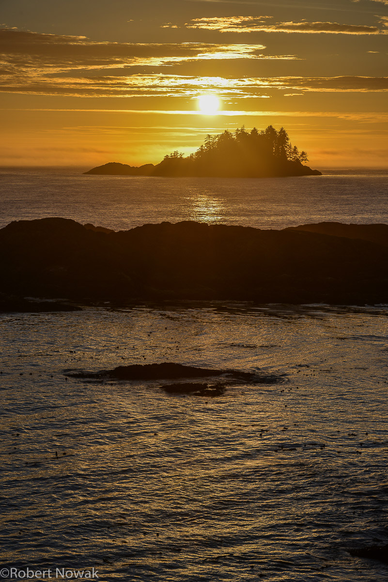 sunset, Vancouver Island, British Columbia, Canada, coast, September, photo