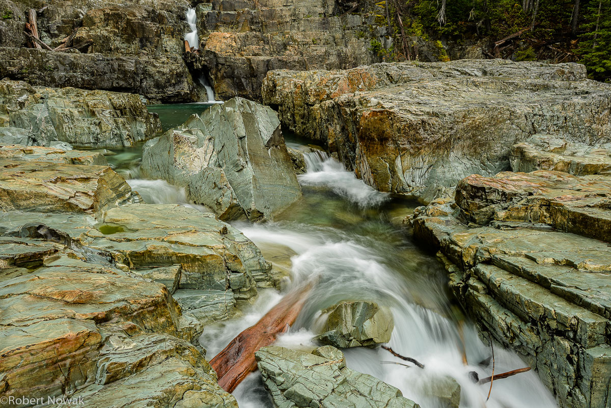 Myra Falls, Strathcona Provincial Park, British Columbia, Canada, Buttle Lake, flowing, photo