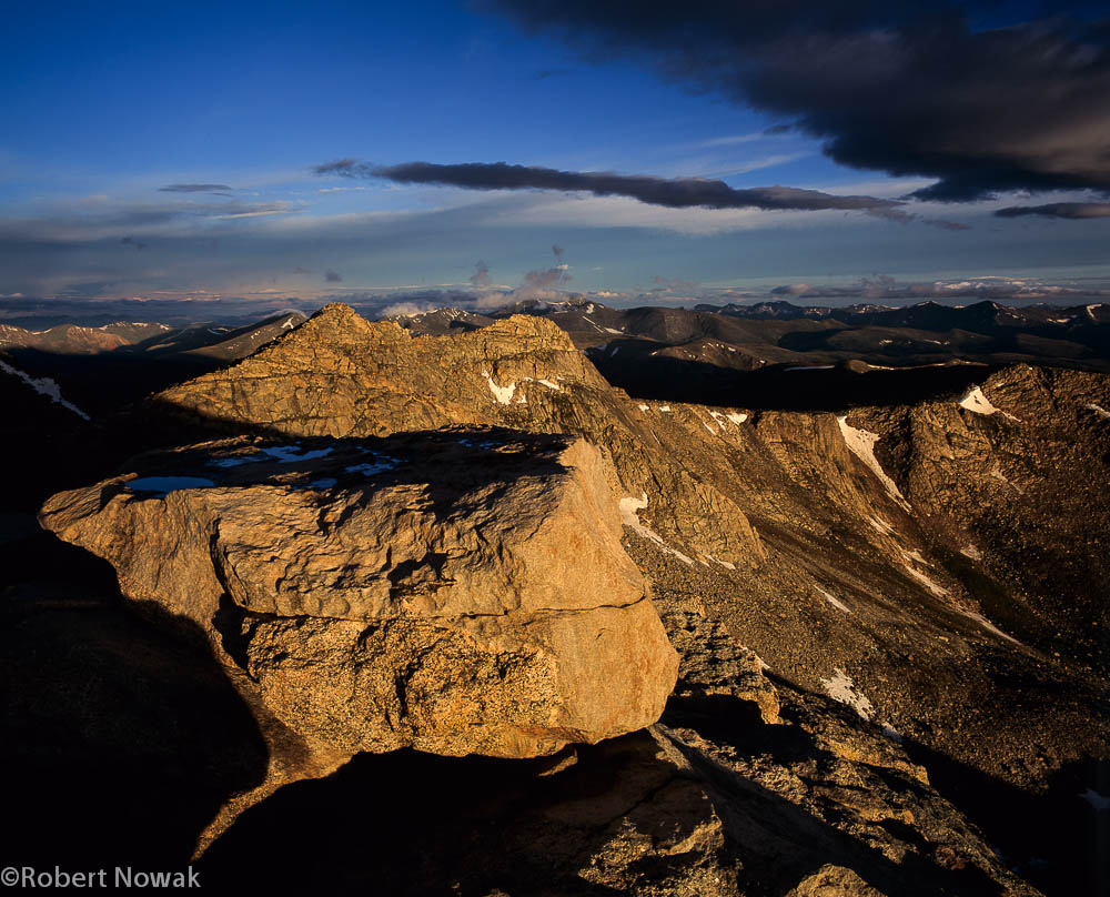Mt. Evans, Arapaho National Forest, Colorado, sunrise, Front Range, photo