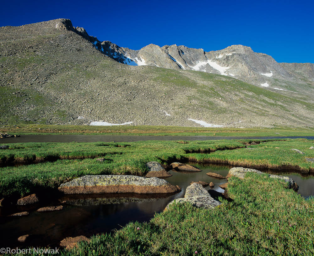 Mt. Evans, Colorado, Arapaho National Forest, Summit Lake, photo