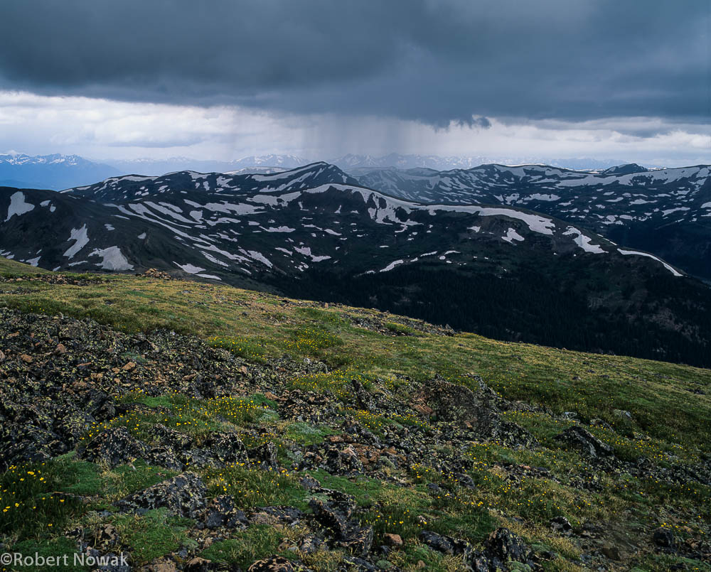 Gore Range, Arapaho National Forest, Colorado, thunderstorm, rain, Loveland Pass, photo