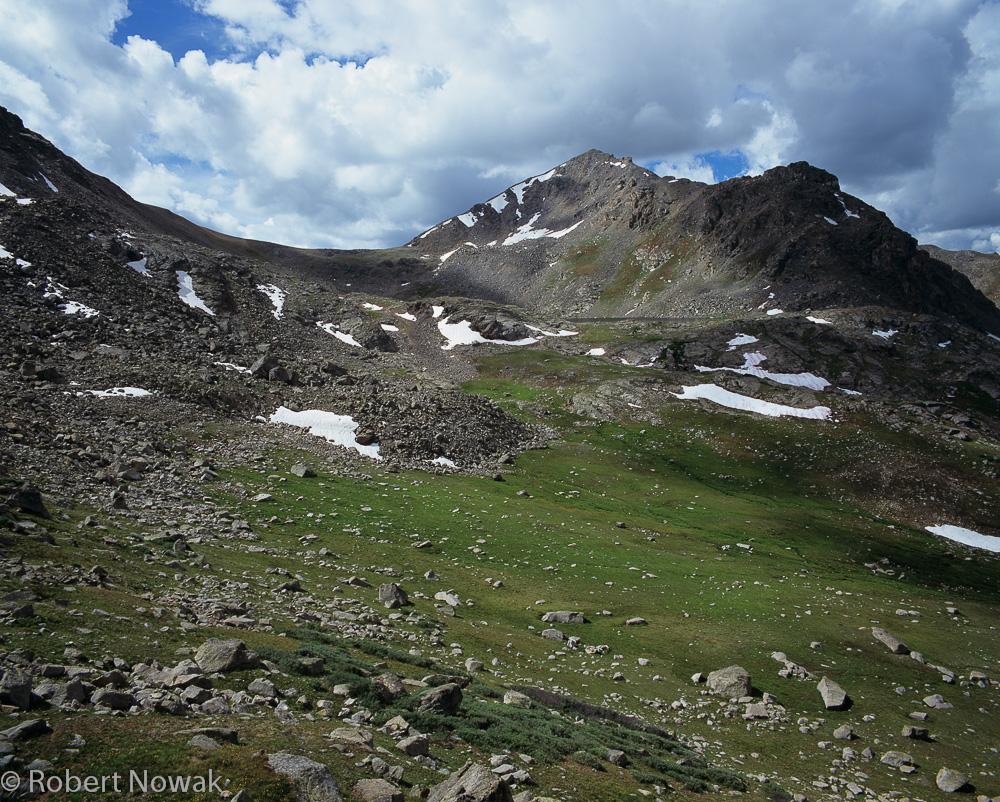 Hunter Fryingpan Wilderness, Colorado, Lost Man Lake, Geissler Mountain, photo