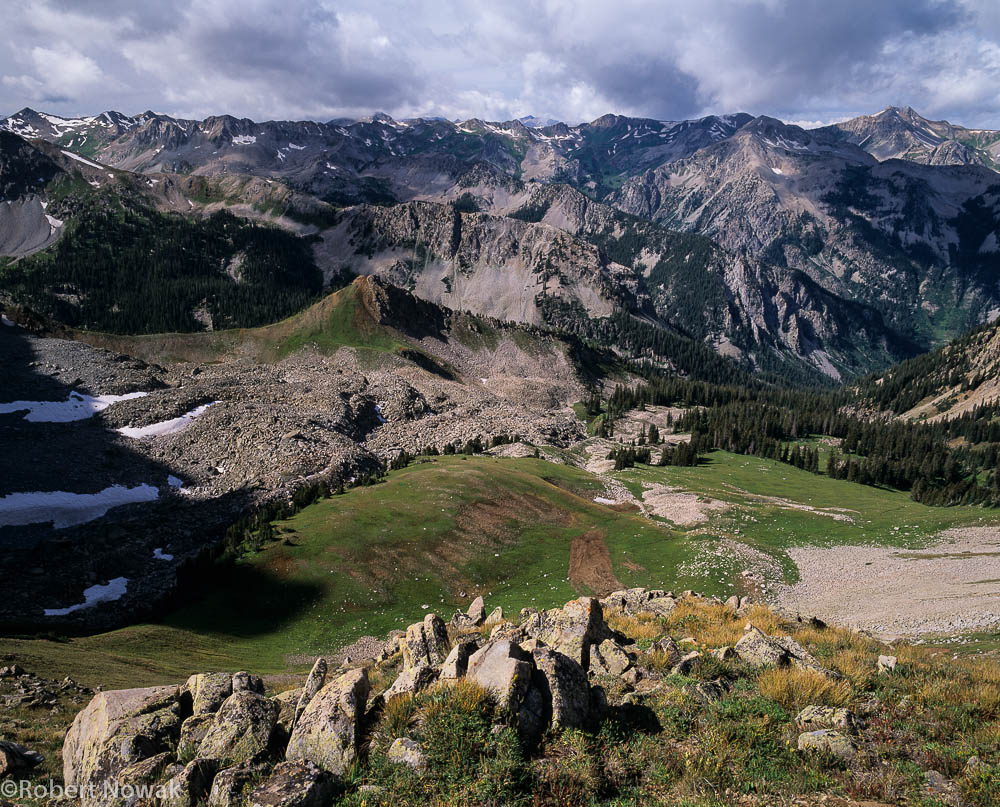 Elk Range, Capitol Lake, Maroon Snowmass Wilderness, Colorado, mountains, peaks, photo