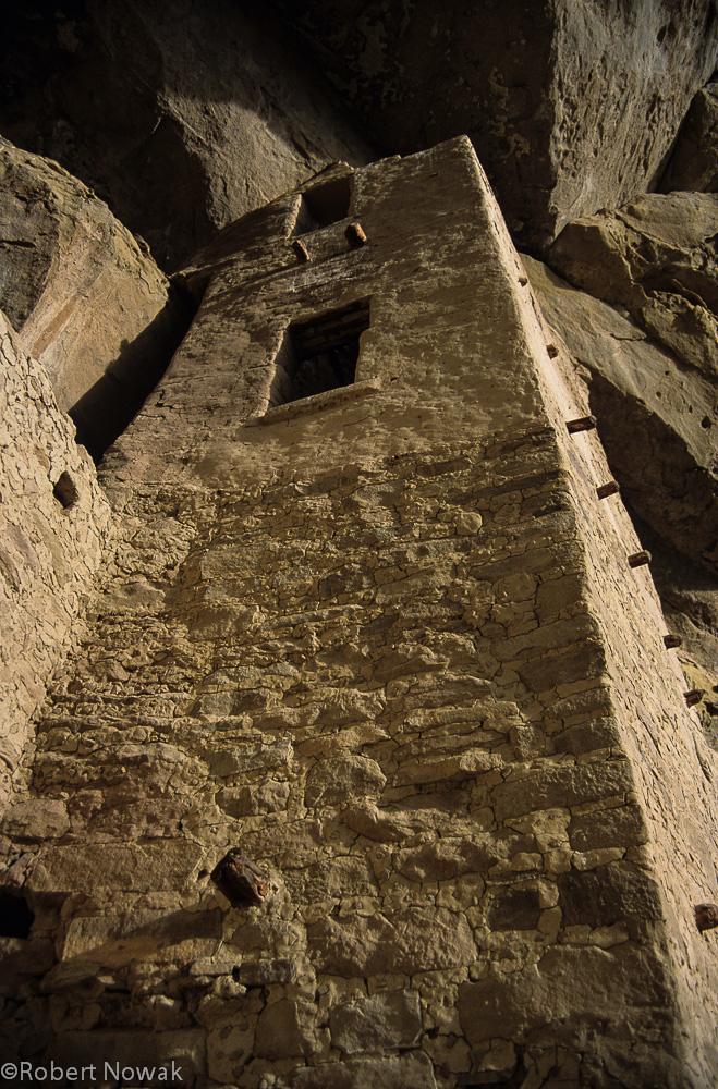 cliff dwelling, Mesa Verde National Park, Colorado, tower, ruin, photo