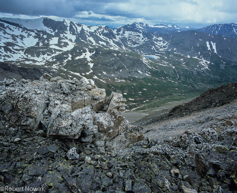 Mt.Cameron, Mosquito Range, Colorado, Pike, National Forest, talus, photo