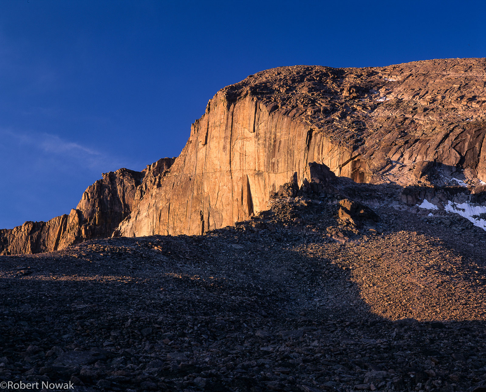 Colorado, rocky mountain national park, diamond, boulderfield, sunrise