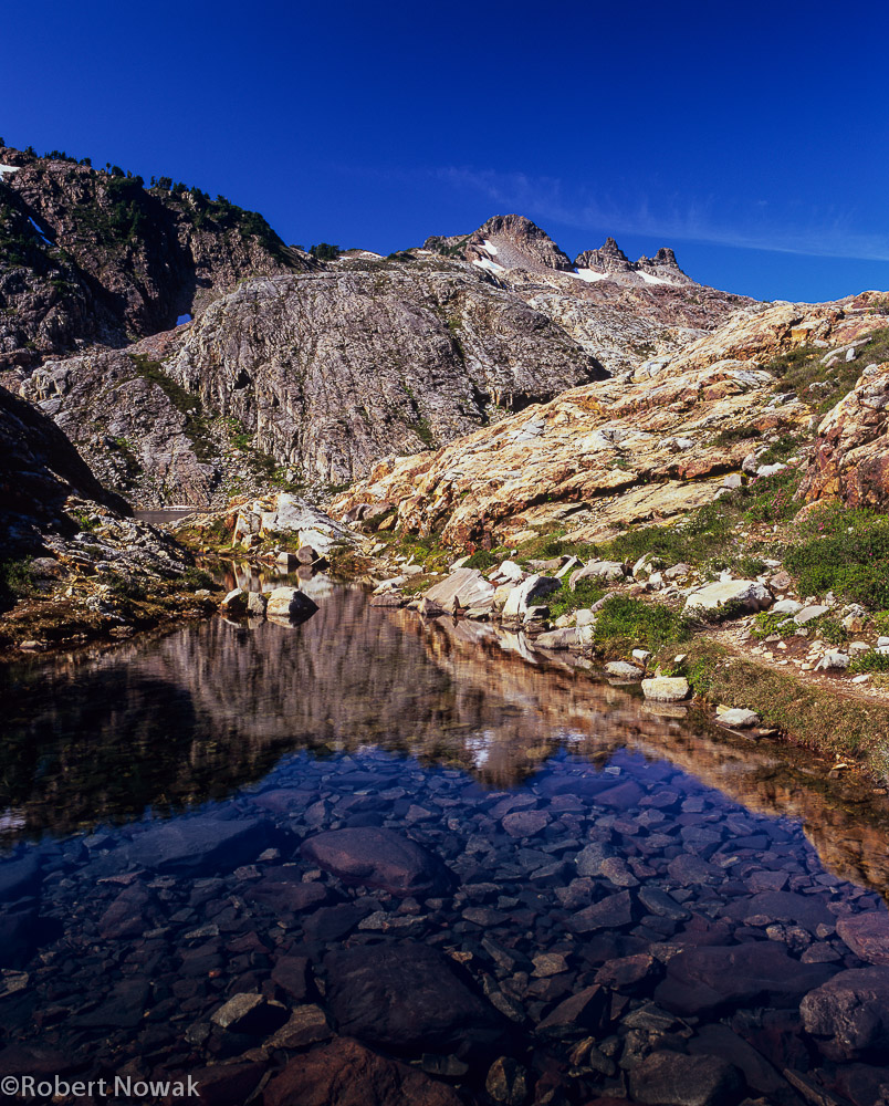 Gothic Basin, Washington, pond, Mount Baker Snoqualmie National Forest, photo