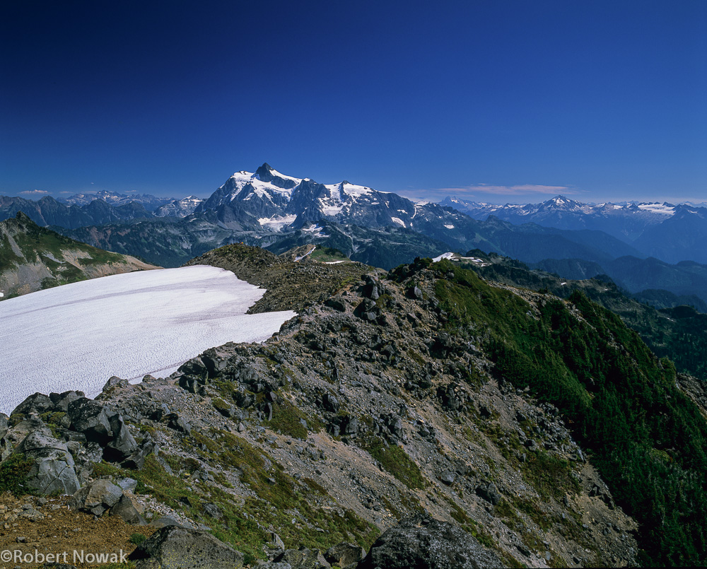 Shuksan, Mount Baker Wilderness, Coleman Pinnacle, Washington, photo