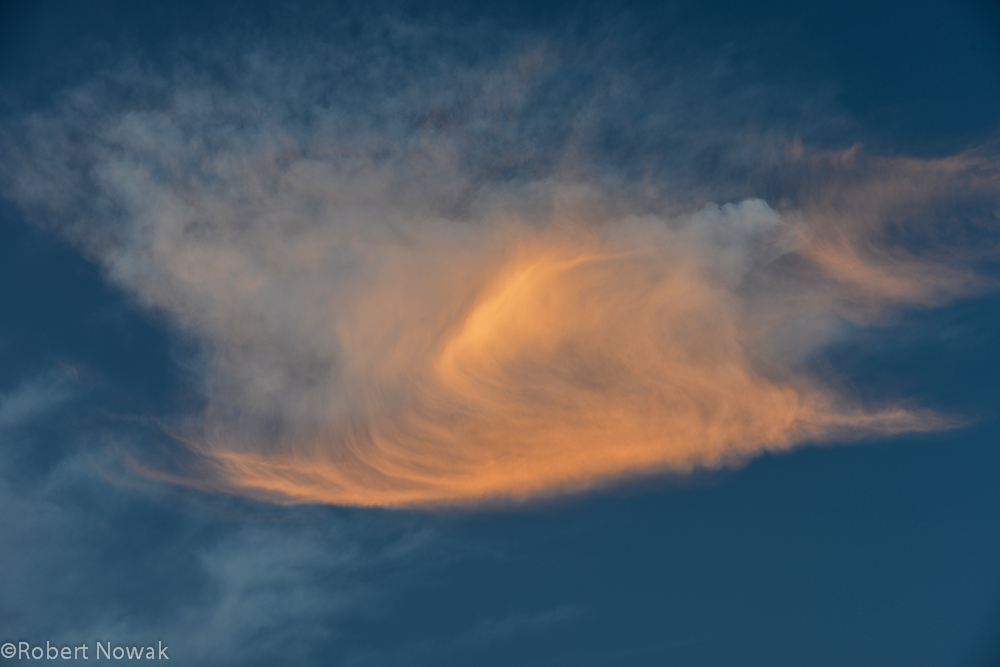 cirrus, sunset, winthrop, washington, clouds, evening, photo