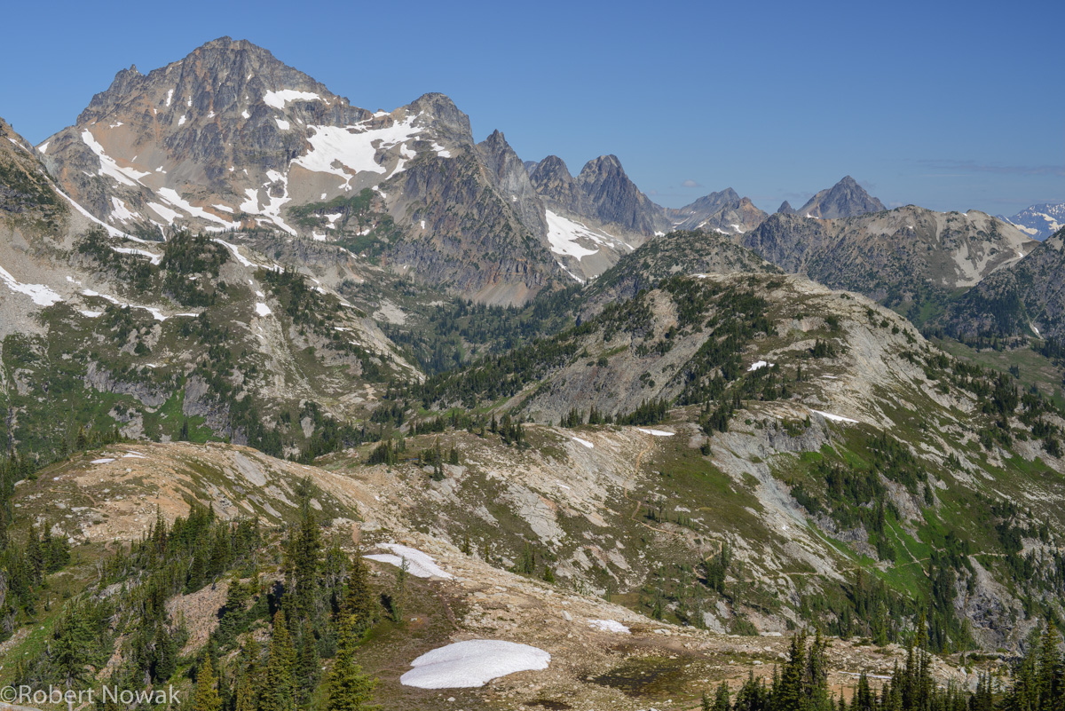 black peak, Washington, Okanogan national forest, heather pass, maple pass, photo