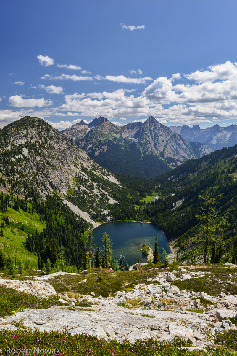 Lake Ann, Okanogan National Forest, Washington, Heather Pass, , photo