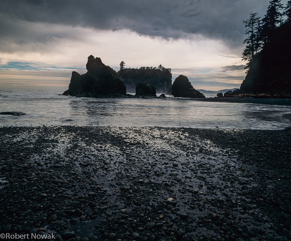 Olympic National Park, Washington, Ruby Beach, storm, photo