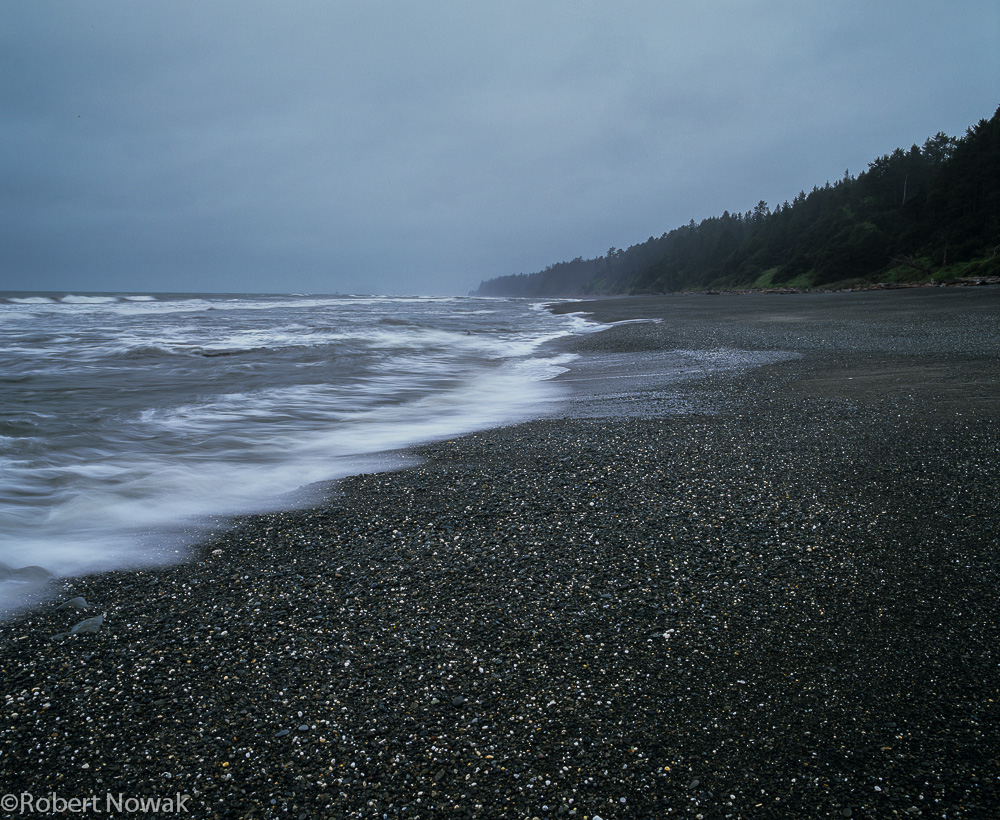 Olympic National Park, Washington, coast, morning, gray, photo