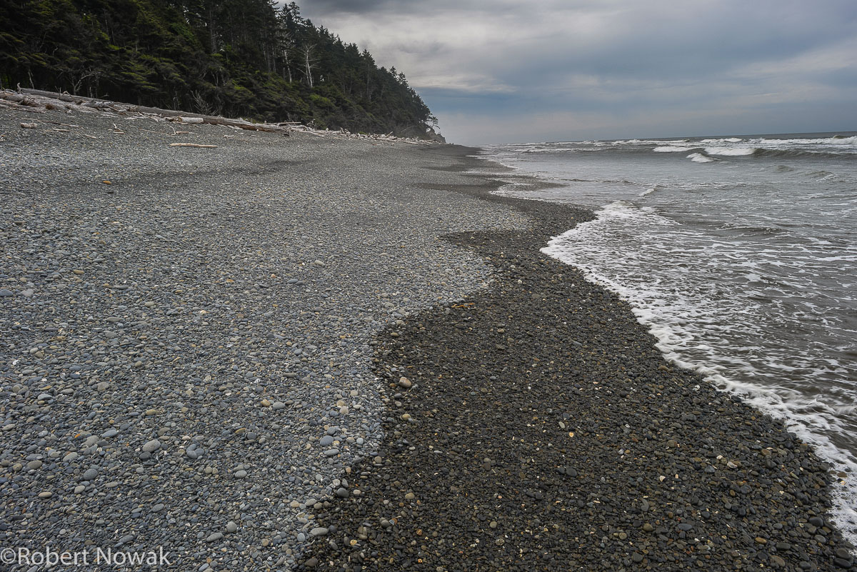 Ruby Beach, Olympic National Park, Washington, waves,, photo