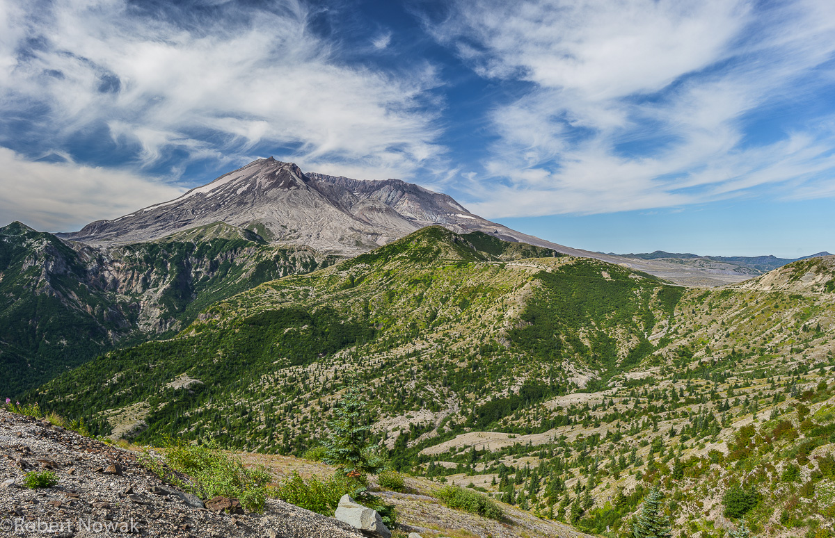 Mount St. Helens National Monument, viewpoint, windy ridge, Washington, , photo