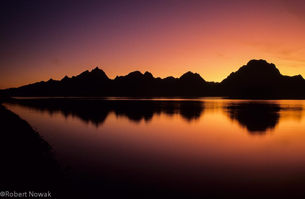 september, sunset, grand teton national park, wyoming, tetons, jackson lake, photo